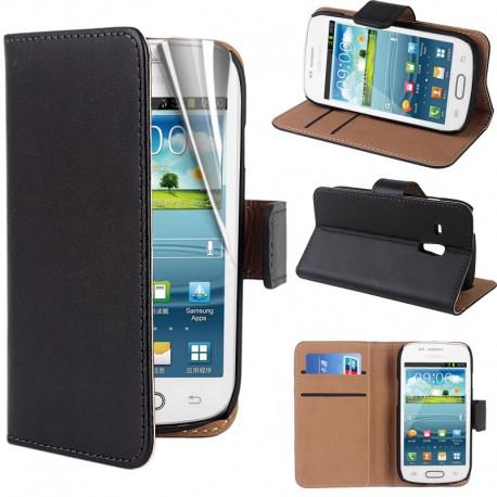 Coque Portefeuille SAMSUNG Galaxy S3 Mini NEW
