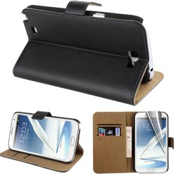Coque Housse Etui Portefeuille SAMSUNG Galaxy Note 2