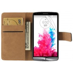 Coque Housse Etui Portefeuille LG G3