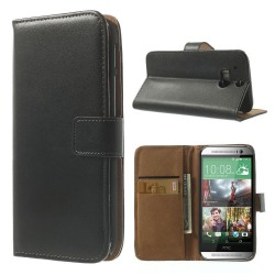 Coque Housse Etui Portefeuille HTC One M8