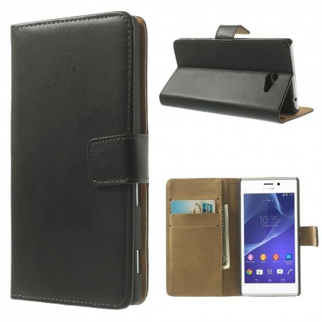 Coque Portefeuille SONY Xperia M2 NEW