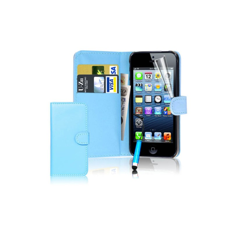 Coque housse etui portefeuille iphone 4 4s int rieur for Interieur iphone