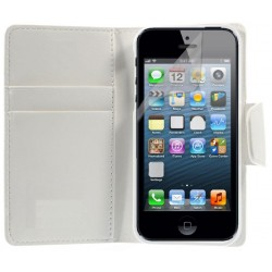 Coque Housse Etui Porte-carte IPHONE 5/5S