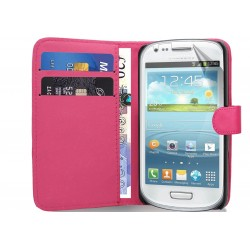 Coque Portefeuille SAMSUNG Galaxy S3 Mini