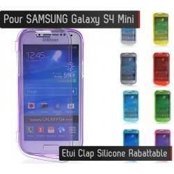 Coque Housse Etui Silicone Clap SAMSUNG Galaxy S4 Mini