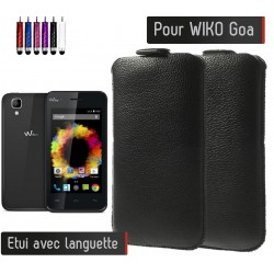 Etui Pull up Wiko Goa