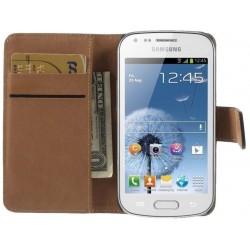 Coque Housse Etui Portefeuille SAMSUNG Galaxy Trend Lite