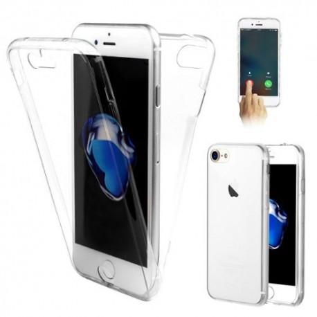Coque Silicone Intégrale Transparente pour IPHONE 7 APPLE Protection Gel Souple
