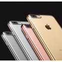 Coque Silicone Contour IPHONE 7 PLUS (+) APPLE Chromé Transparente Bumper Protection Gel Souple