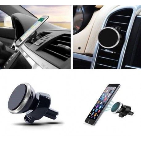 support voiture magn tique pour iphone 6 aimant noir ventilateur universel 360 rotatif shot. Black Bedroom Furniture Sets. Home Design Ideas
