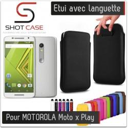 Etui Pull up MOTOROLA Moto x Play