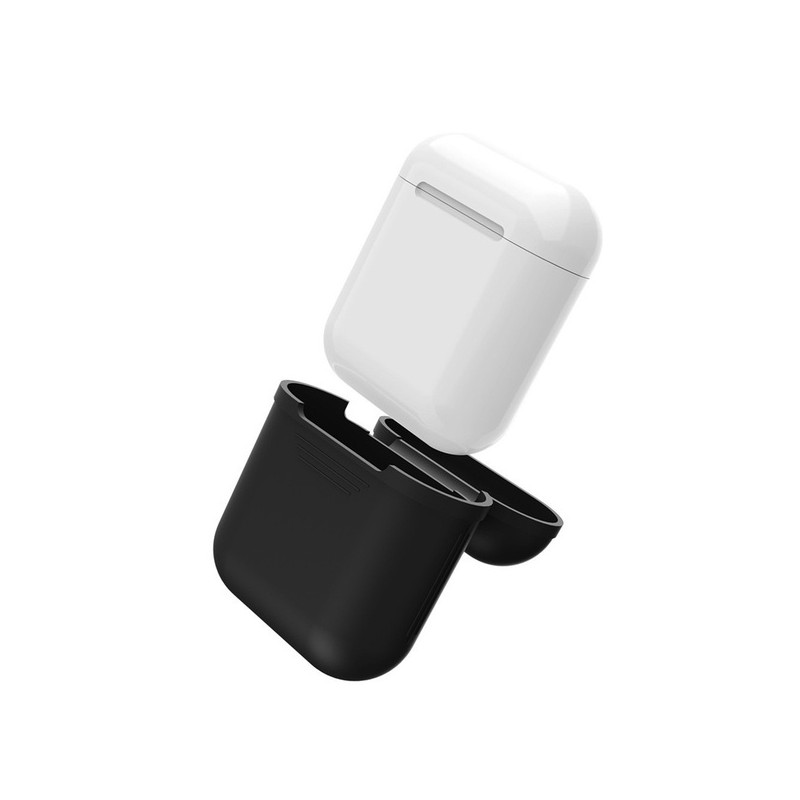 Coque Silicone pour AirPods APPLE Boitier de Charge Grip