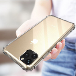 Coque Silicone Anti-Chocs IPHONE 11 APPLE Transparente Protection Gel Souple