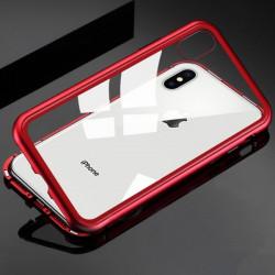 Coque Verre Trempe IPHONE 8 APPLE Magnetique Transparente Protection Integrale