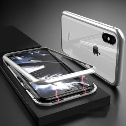 Coque Verre Trempe IPHONE X Max APPLE Magnetique Transparente Protection Integrale