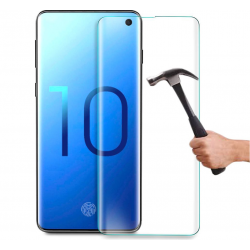 Film Verre Trempe pour SAMSUNG Galaxy S10E Incurve Ecran Incassable 9H+ Protection 0,26mm Transparent 2,5D