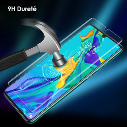 Film Verre Trempe pour HUAWEI P30 Pro Incurve Ecran Incassable 9H+ Protection 0,26mm Transparent 2,5D