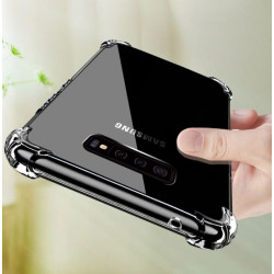 Coque Silicone Anti-Chocs SAMSUNG Galaxy S10 Transparente Protection Gel Souple