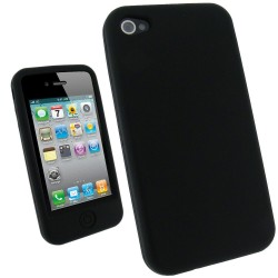 Coque Silicone Souple IPHONE 4/4S Protège Bouton Couleurs