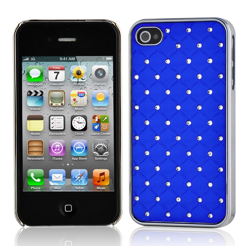 Coque housse etui strass iphone 4 4s couleurs diamant for Etui housse iphone 4
