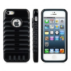 Coque Hybride Microphone Fishbone IPHONE 4/4S Couleurs Squellette Souple/Rigide