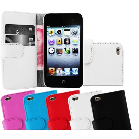Coque Portefeuille Wallet APPLE iTouch 4 Couleurs