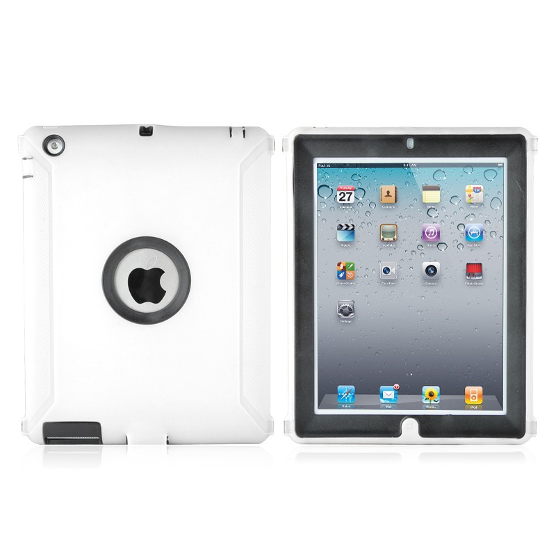 Housse de protection coque defender vitre ipad 3 apple for Housse protection ipad