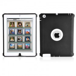 Housse de Protection / Coque Defender Vitre IPAD 3 APPLE