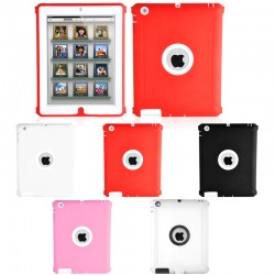 Housse de Protection / Coque Defender Vitre IPAD 4 APPLE