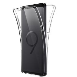 Coque Silicone Intégrale SAMSUNG Galaxy S9 Transparente Protection Gel Souple