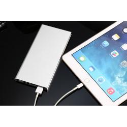 Batterie Externe Plate pour Smartphone Tablette Chargeur Universel Power Bank 6000mAh 2 Port USB