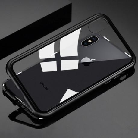 Coque Verre Trempé IPHONE 7 APPLE Magnetique Transparente Protection Integrale