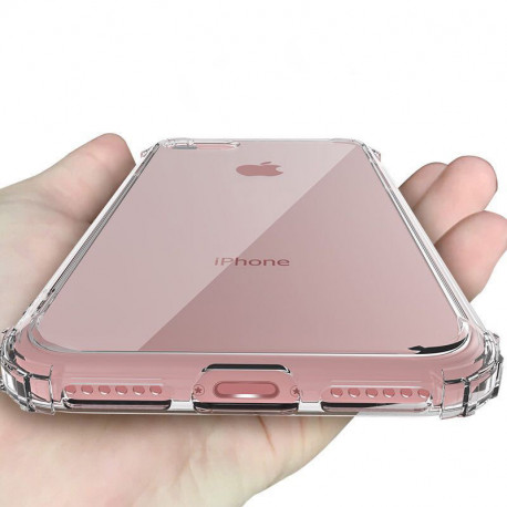 Coque Silicone Anti-Chocs IPHONE APPLE Transparente Protection Gel Souple