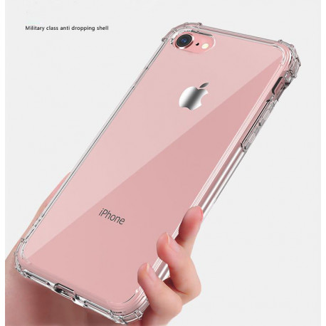 Coque Silicone Anti-Chocs IPHONE APPLE Transparente Protection Gel Souple
