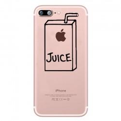 Pack Protection pour IPHONE 7 PLUS (+) (Coque Silicone Juice + Film Verre Trempe) Fun APPLE
