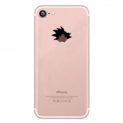 Coque Silicone IPHONE Sangoku Fun APPLE Tête Dragon Ball Pomme Cartoon Protection Gel Souple