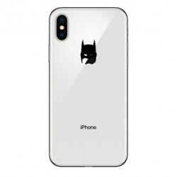 Pack Protection pour IPHONE Xs (Coque Silicone Batman + Film Verre Trempe) Fun APPLE