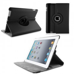 Housse de Protection / Coque Rotation 360° IPAD 2 Simili-Cuir APPLE
