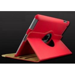 Housse de Protection / Coque Rotation 360° Intérieur Beige IPAD 3 Simili-Cuir APPLE