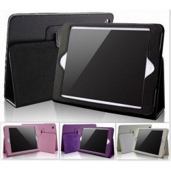 Housse de Protection / Coque Pliable Folio IPAD 3 Simili-Cuir APPLE