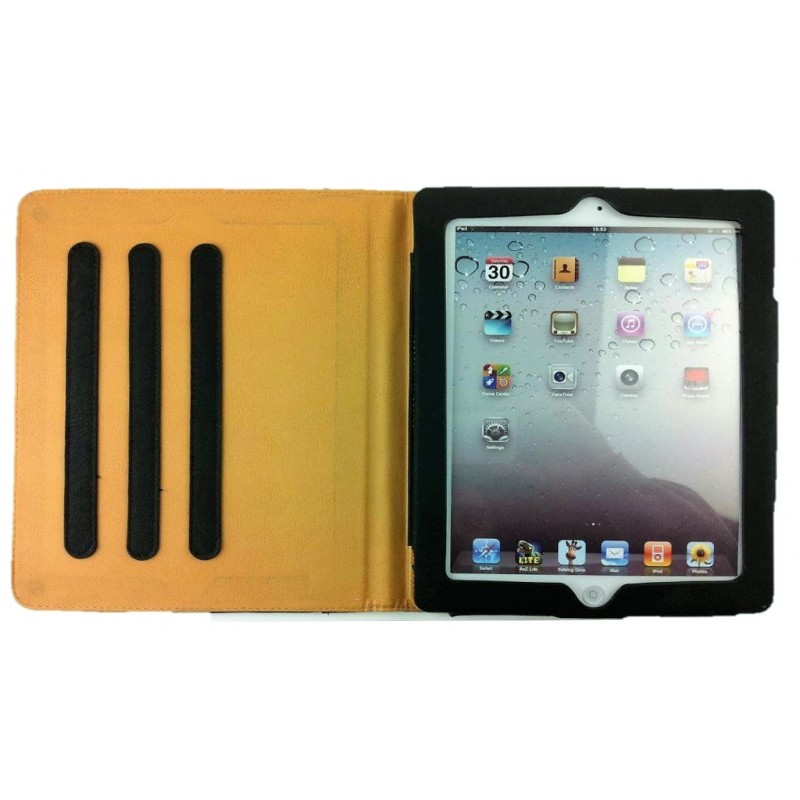 Housse de protection coque pliable folio int rieur for Housse protection ipad