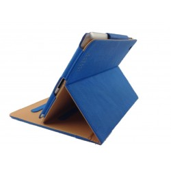 Housse de Protection / Coque Pliable Folio Intérieur Marron IPAD 3 Simili-Cuir APPLE