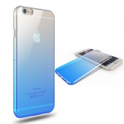 Coque Silicone Dégradé IPHONE 5/5S/SE Bi-color Souple Gel Protection APPLE
