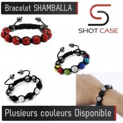 Bracelet SHAMBALLA Perles Couleurs