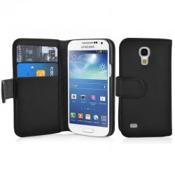 Coque Portefeuille Wallet SAMSUNG Galaxy S4 Mini i9500 Couleurs Housse Etui