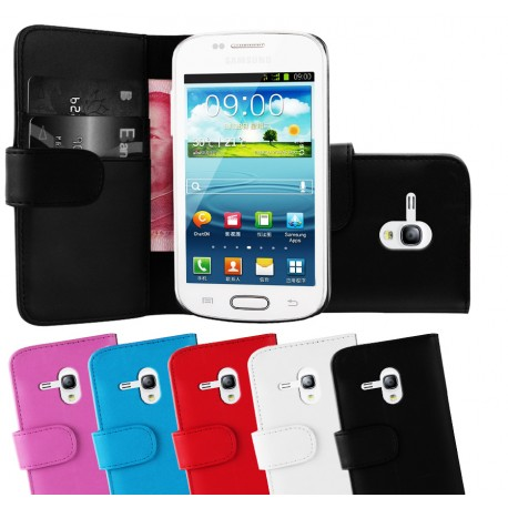 Coque Portefeuille Wallet SAMSUNG Galaxy S3 Mini Couleurs
