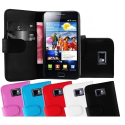 Coque Portefeuille Wallet SAMSUNG Galaxy S2 i9100 Couleurs Housse Etui