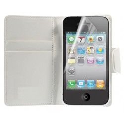 Coque Housse Etui Porte-carte IPHONE 4/4S