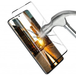 "Film Verre Trempe pour ""SAMSUNG Galaxy S20"" Incurve 3D Ecran Incassable 9H+ Protection 0,33mm Transparent"