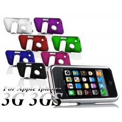 Coque Silver Line Chrome Stand Béquille IPHONE 3/3GS Couleurs Housse Etui